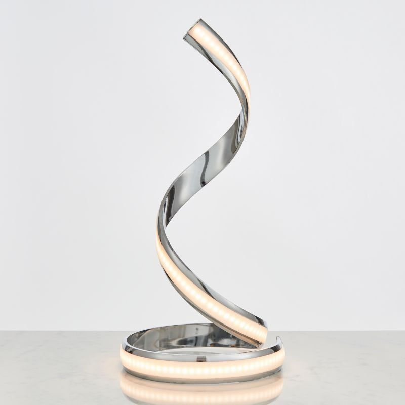 Endon-Collection-76412 - Aria - LED Polished Chrome 700lm Table Lamp