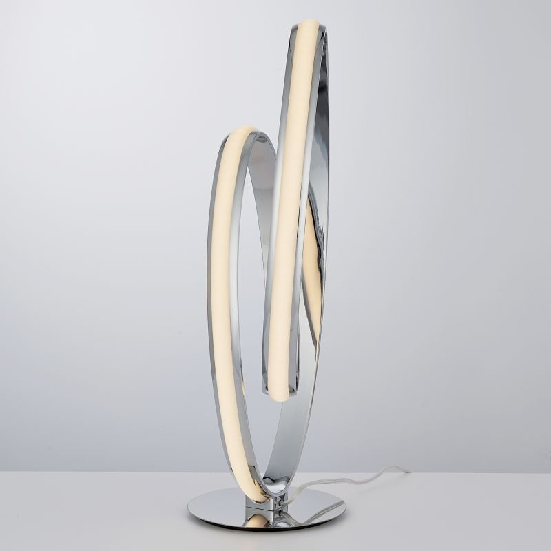Endon-Collection-76416 - Aria - LED Polished Chrome 900lm Table Lamp