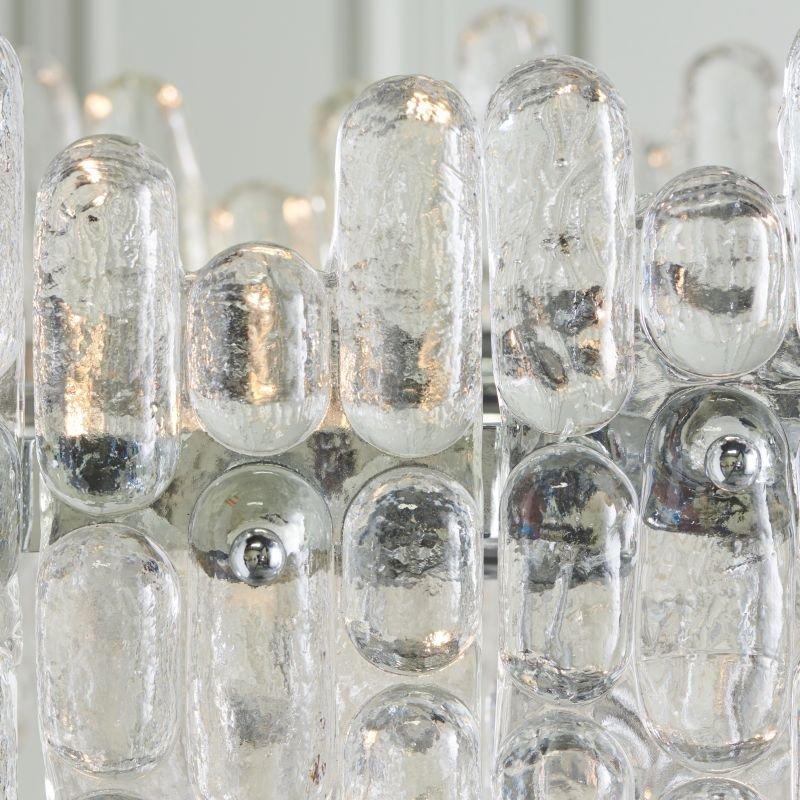 Endon-Collection-76435 - Maya - Ice Crystal & Polished Chrome 9 Light Chandelier
