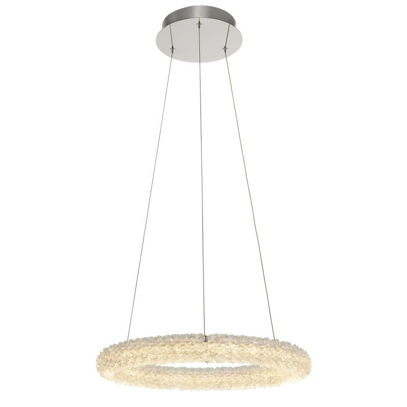 Endon-Collection-76482 - Neve - LED Crystal & Chrome 1 Light Ring Fitting
