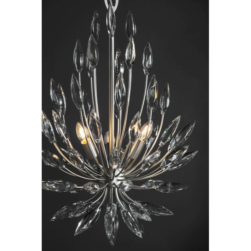 Endon-Collection-76505 - Orianna - Crystal & Silver Champagne Cente Fitting