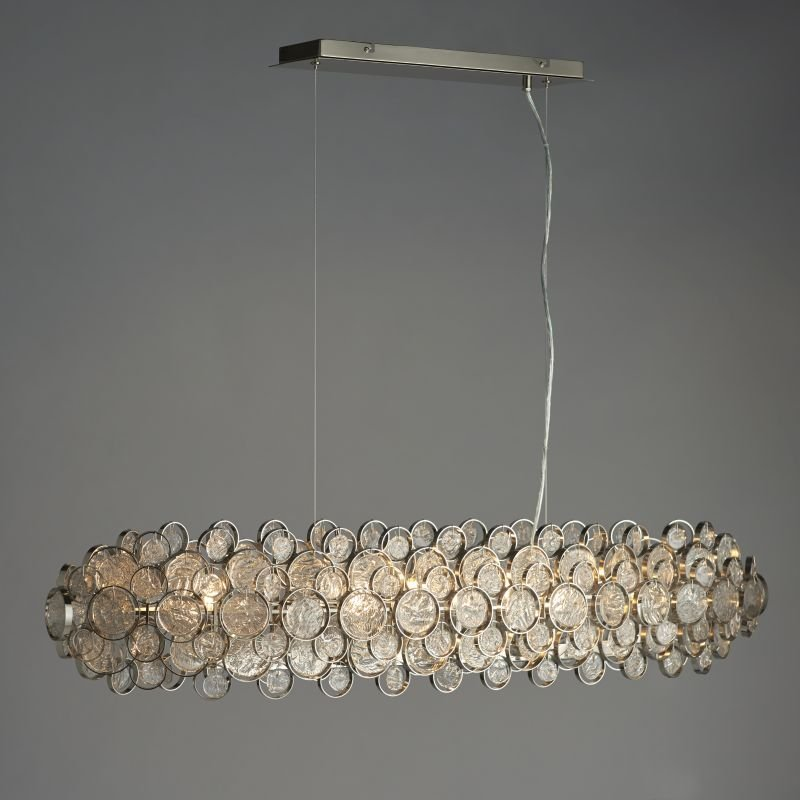 Endon-Collection-76507 - Marella - Clear Medallions & Bright 8 Light over Island Fitting