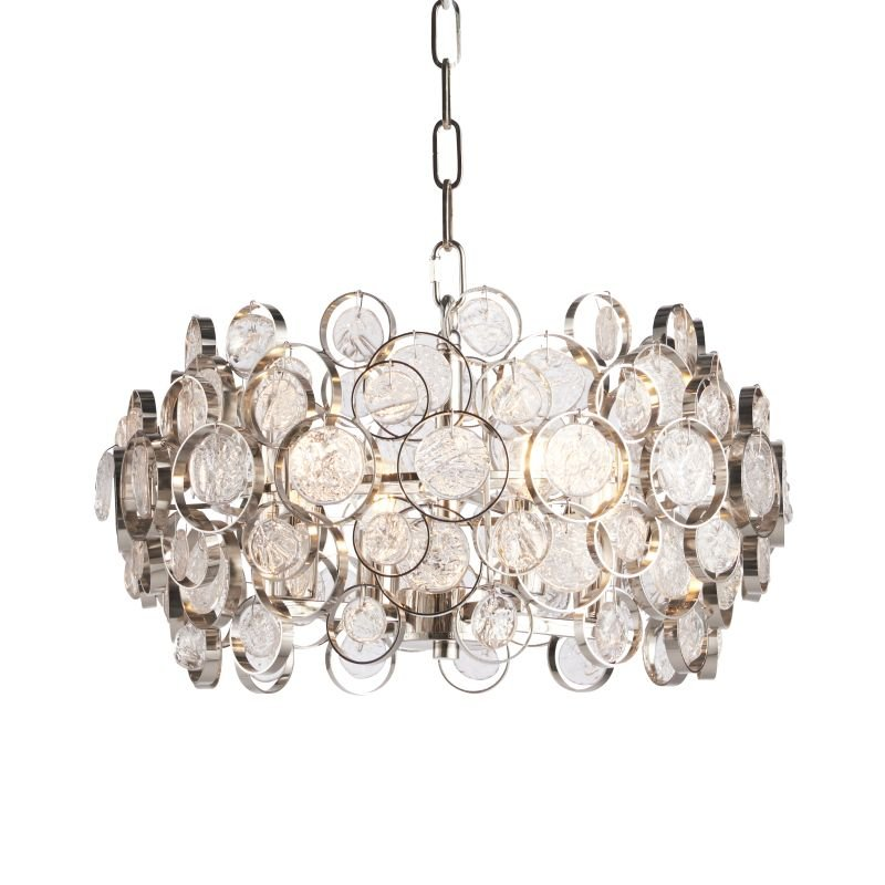 Endon-Collection-76509 - Marella - Clear Medallions & Bright 4 Light Pendant