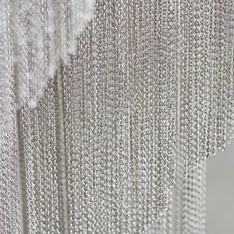 Endon-Collection-76511 - Loire - Delicately Hand Dressed with Thousands of Fine Chains Chandelier