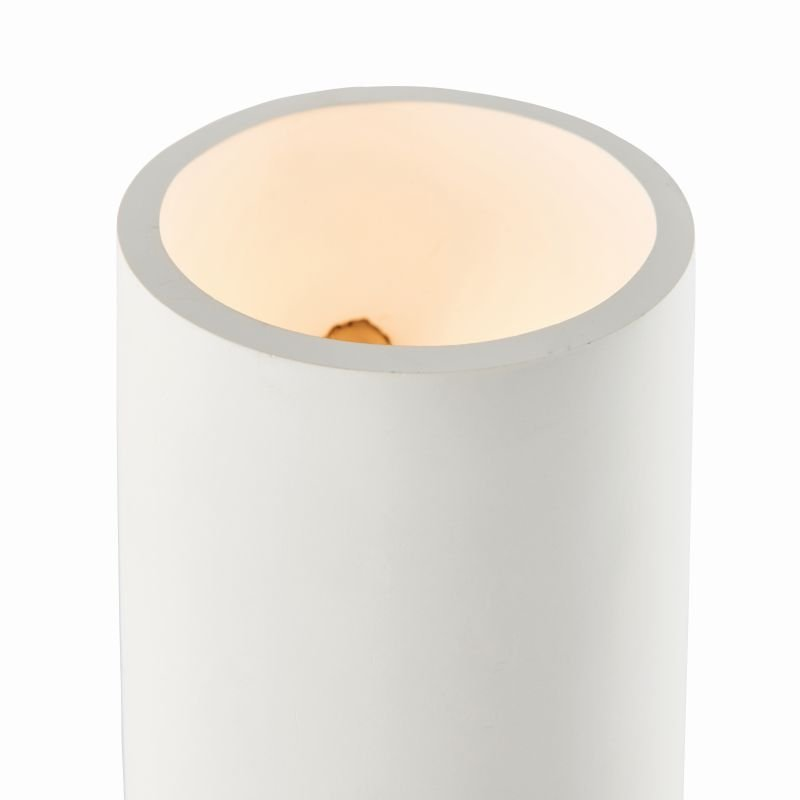 Endon-Collection-76536 - Curve - White Up&Down Plaster Wall Lamp