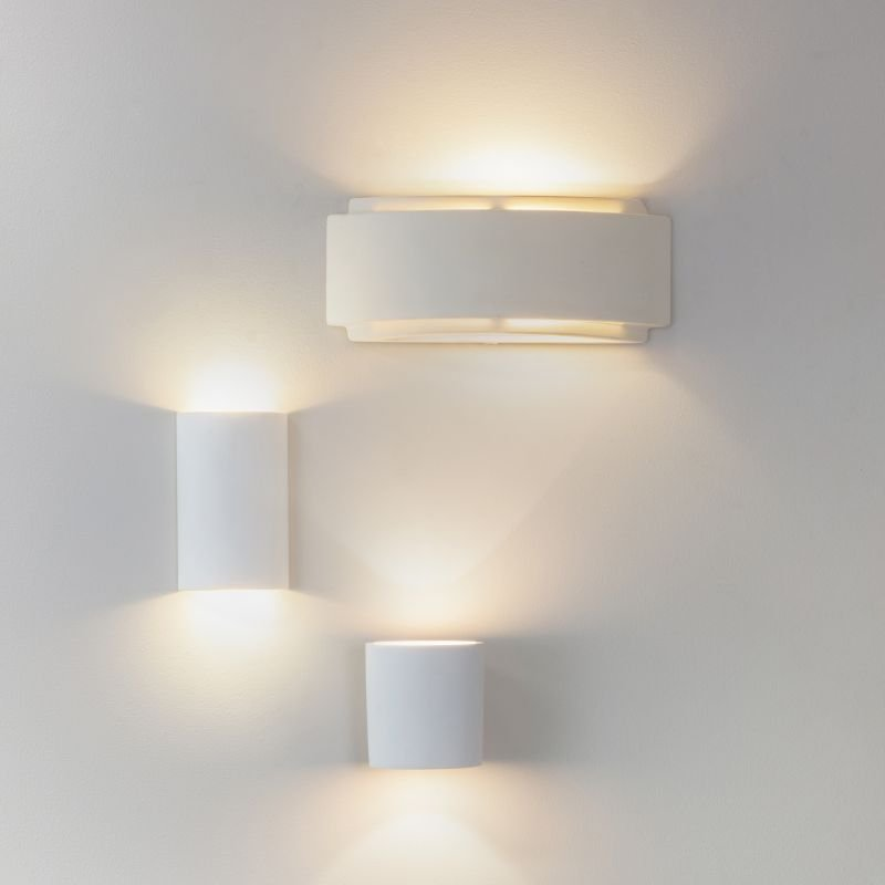 Endon-Collection-76570 - Gianna - White Up&Down Ceramic Wall Lamp