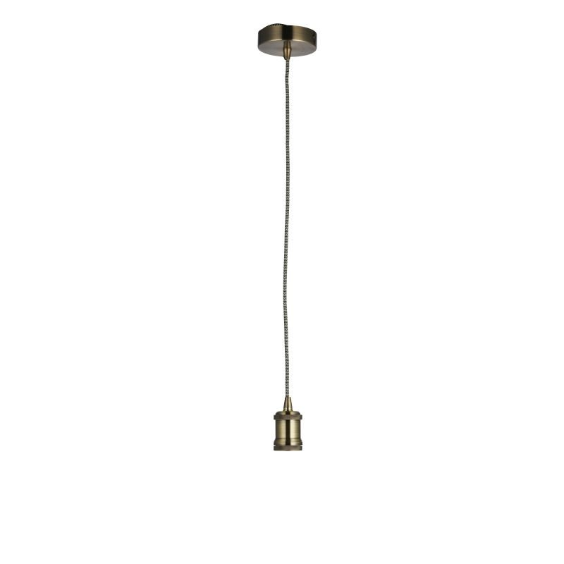 Endon-76585 - Cambourne - Antique Brass Suspension E27