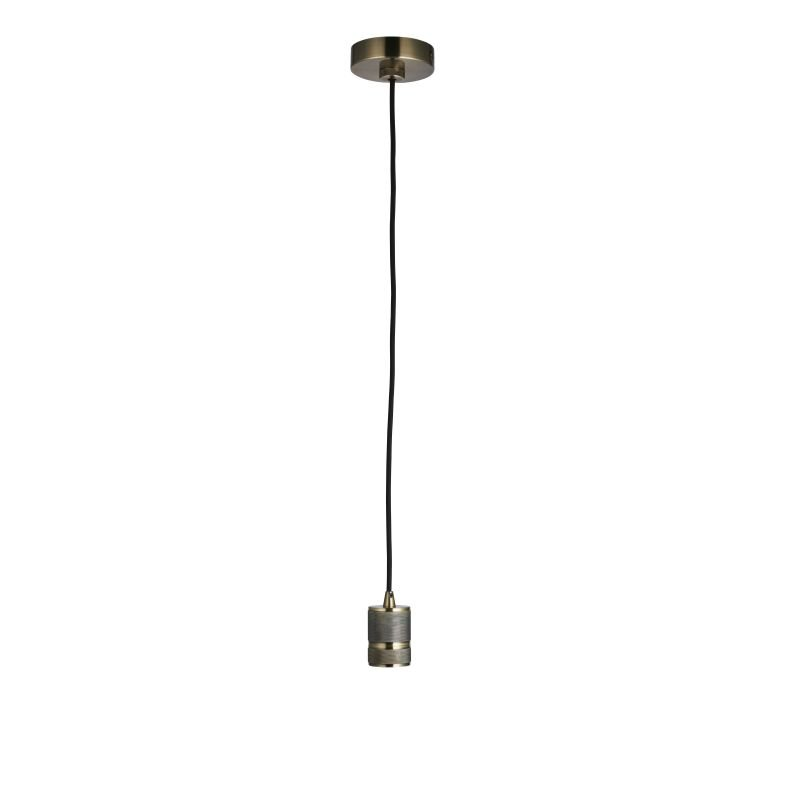 Endon-76586 - Urban - Antique Brass Suspension E27