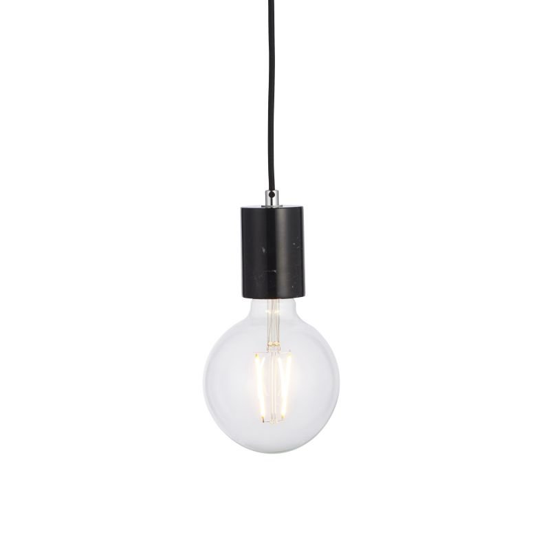 Endon-Collection-76608 - Otto - Polished Black Marble Pendant