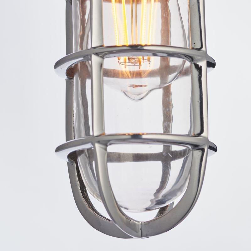 Endon-Collection-77275 - Elcot - Polished Cast Aluminium & Glass Pendant