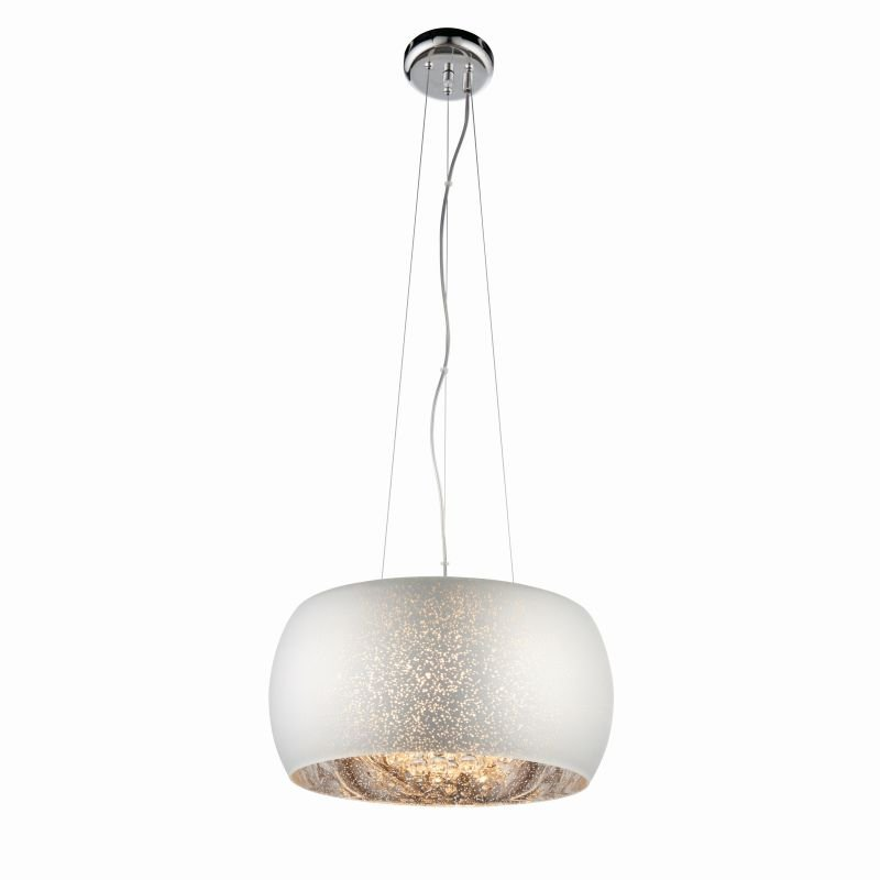 Endon-Collection-78697 - Eclipse - Striking Glass with Crystal 5 Light Pendant