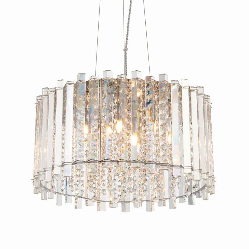 Endon-Collection-78699 - Hanna - Clear Crystal & Chrome 5 Light Pendant