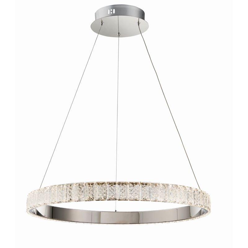 Endon-Collection-78702 - Celeste - LED Crystal & Chrome Ring Pendant