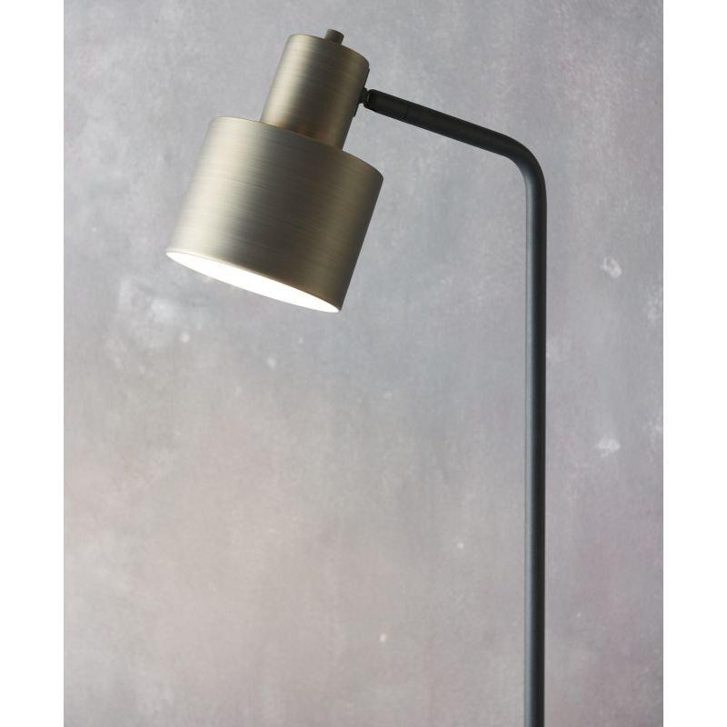 Endon-Collection-78706 - Mayfield - Dark Bronze & Matt Black Floor Lamp