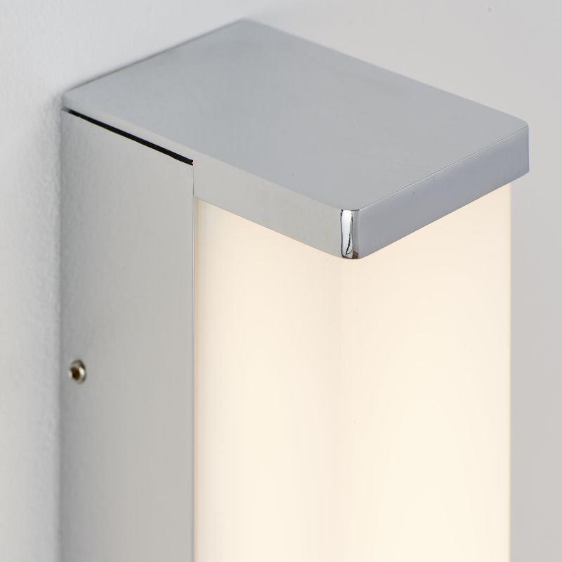 Endon-Collection-78993 - Edge 300 - LED White & Polished Chrome Wall Lamp