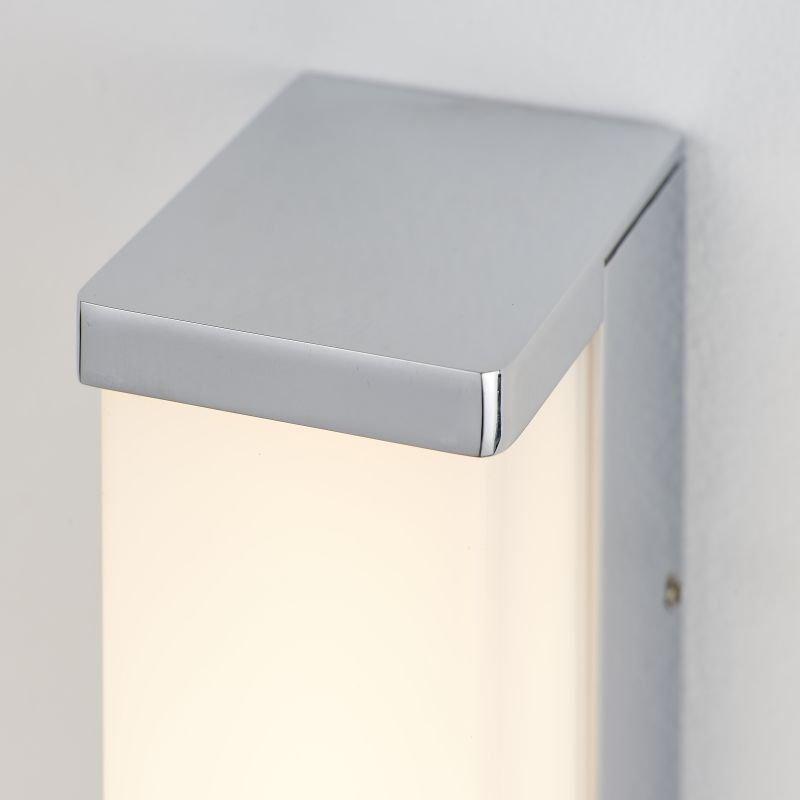 Endon-Collection-78994 - Edge 600 - LED White & Polished Chrome Wall Lamp