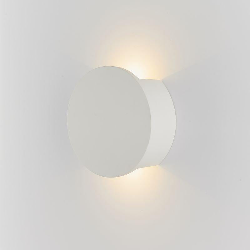 Endon-Collection-79893 - Sanna - LED White Plaster 2 Light Wall Lamp