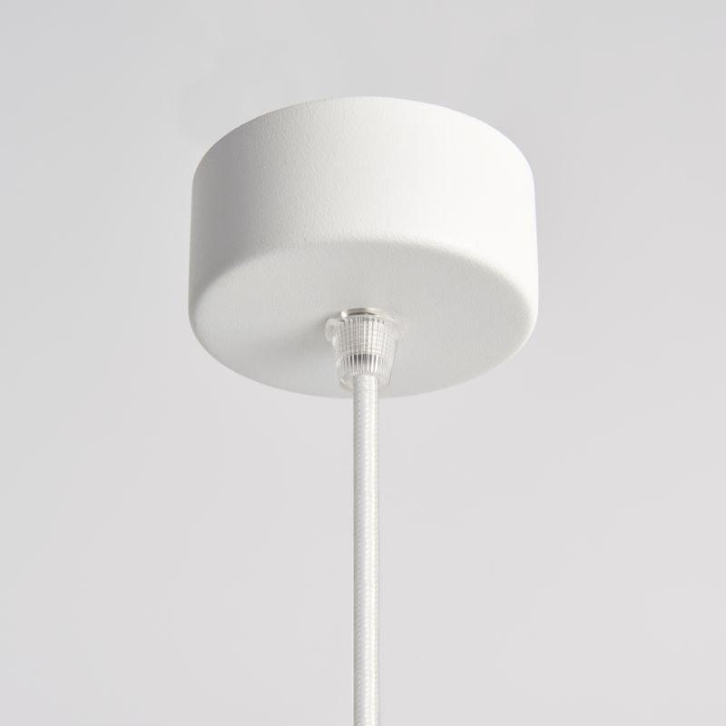 Endon-Collection-79897 - Asta - White Concrete Single Pendant