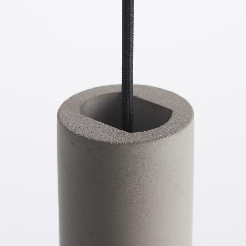 Endon-Collection-79898 - Asta - Grey Concrete Single Pendant