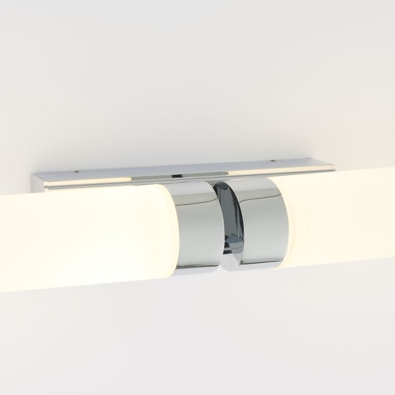 Endon-Collection-79913 - Salano - LED Frosted & Polished Chrome 2 Light Wall Lamp