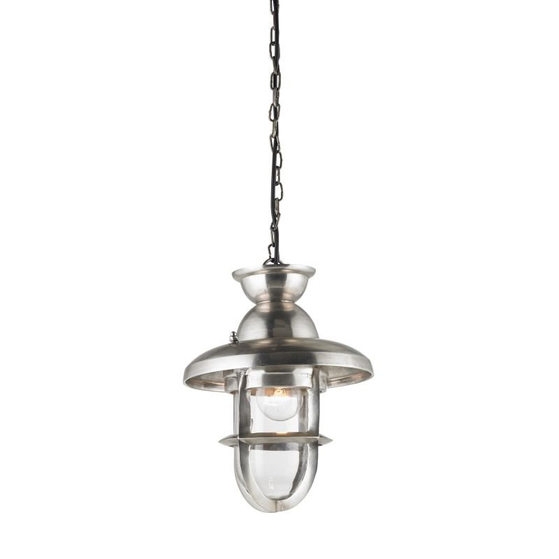 Endon-Collection-EH-ROWLING-L - Rowling - Clear Glass & Antiqued Silver Pendant