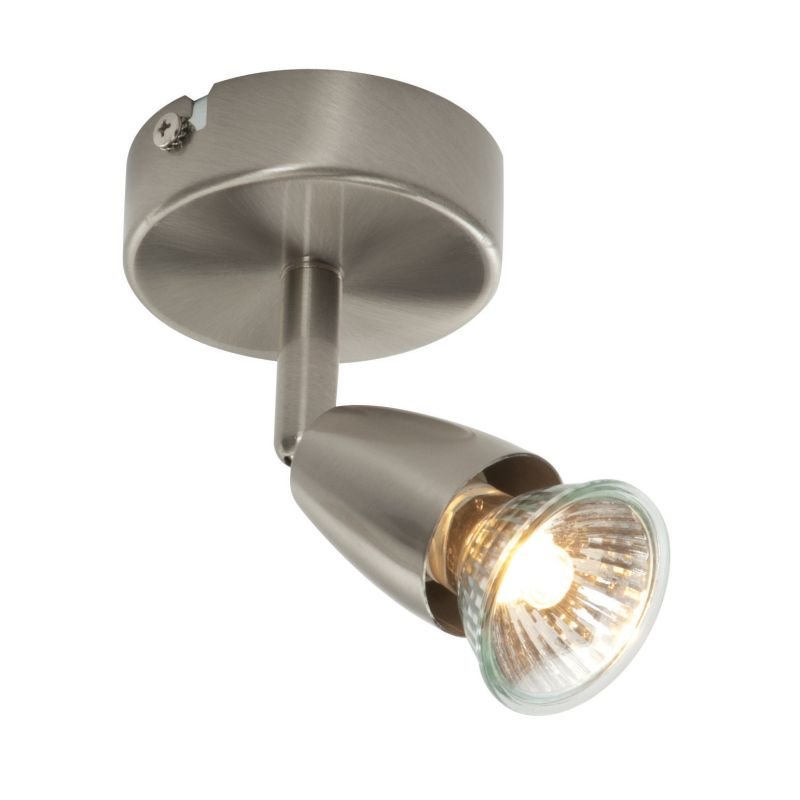 Saxby-G2521013 - Amalfi - Satin Nickel Single Spotlight