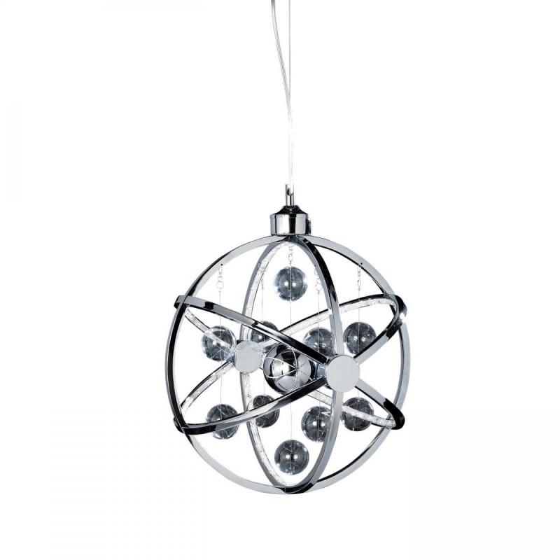 Endon-MUNI-CH-S - Muni - LED Clear & Chrome Balls Hanging Pendant