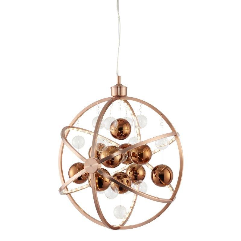 Endon-MUNI-CO - Muni - LED Copper & Clear Balls Hanging Pendant