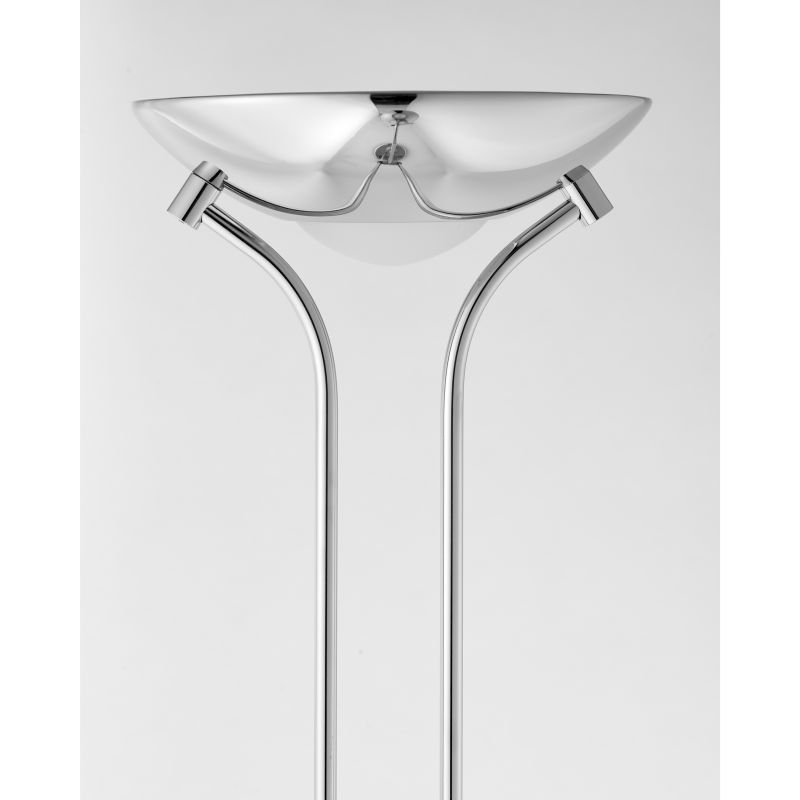 Endon-ROME-CH - Rome - Polished Chrome Mother&Child Uplighter Floor Lamp