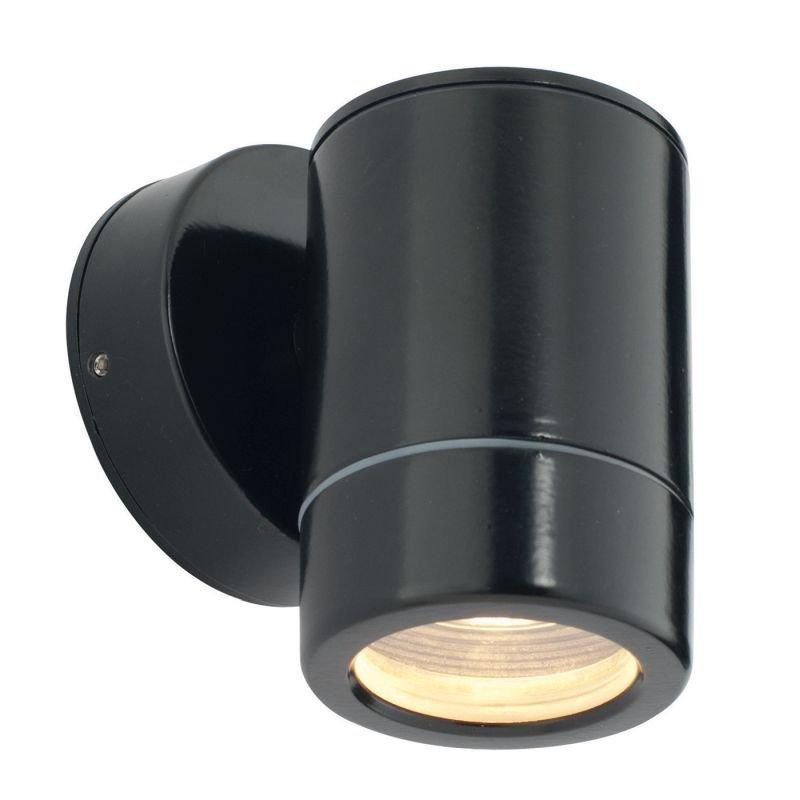 Saxby-ST5009BK - Odyssey - Satin Black Single Downlight Wall Lamp