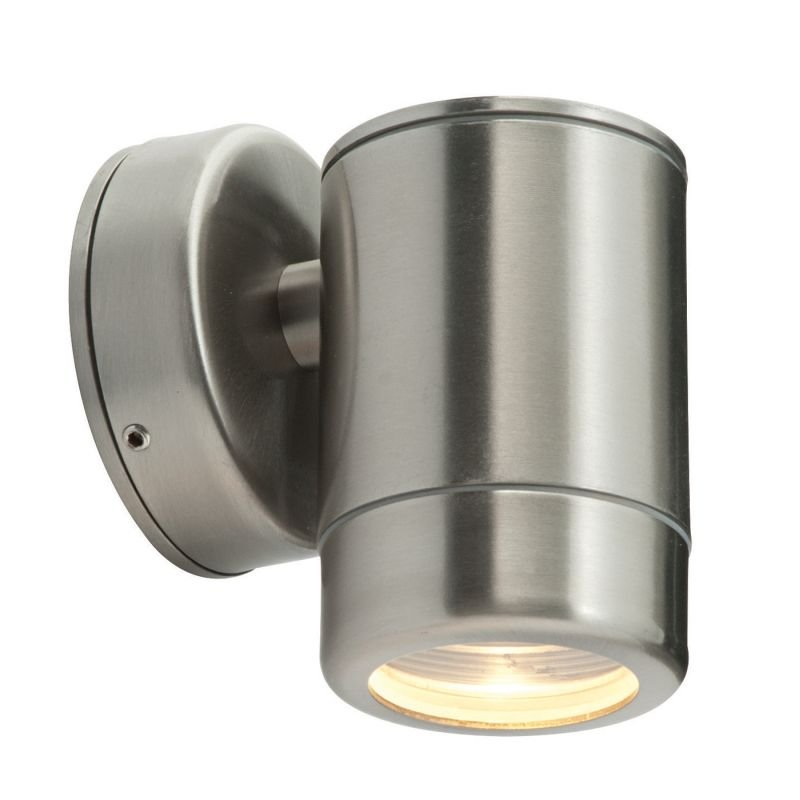 Saxby-ST5009SS - Odyssey - Brushed Stainless Steel Single Wall Lamp