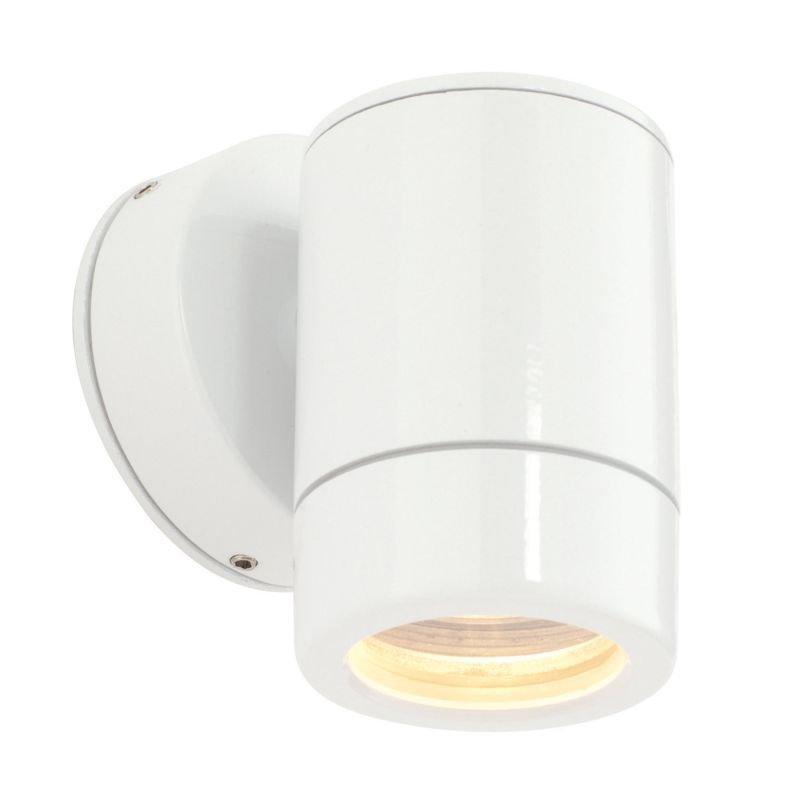 Saxby-ST5009W - Odyssey - Gloss White Single Downlight Wall Lamp