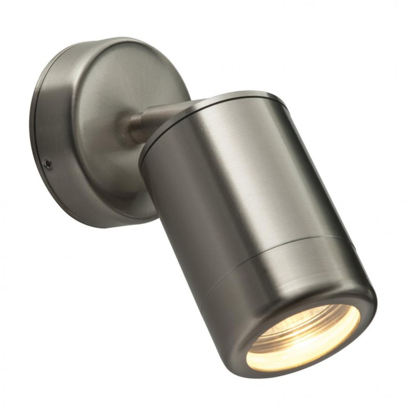 Saxby-ST5010S - Odyssey - Outdoor Brushed Stainless Steel Adjustable Spotlight