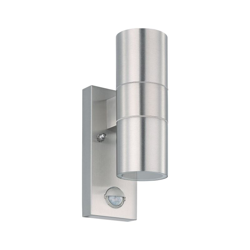 Eglo-32898 - Riga 5 - Stainless Steel Up&Down Wall Lamp with Sensor