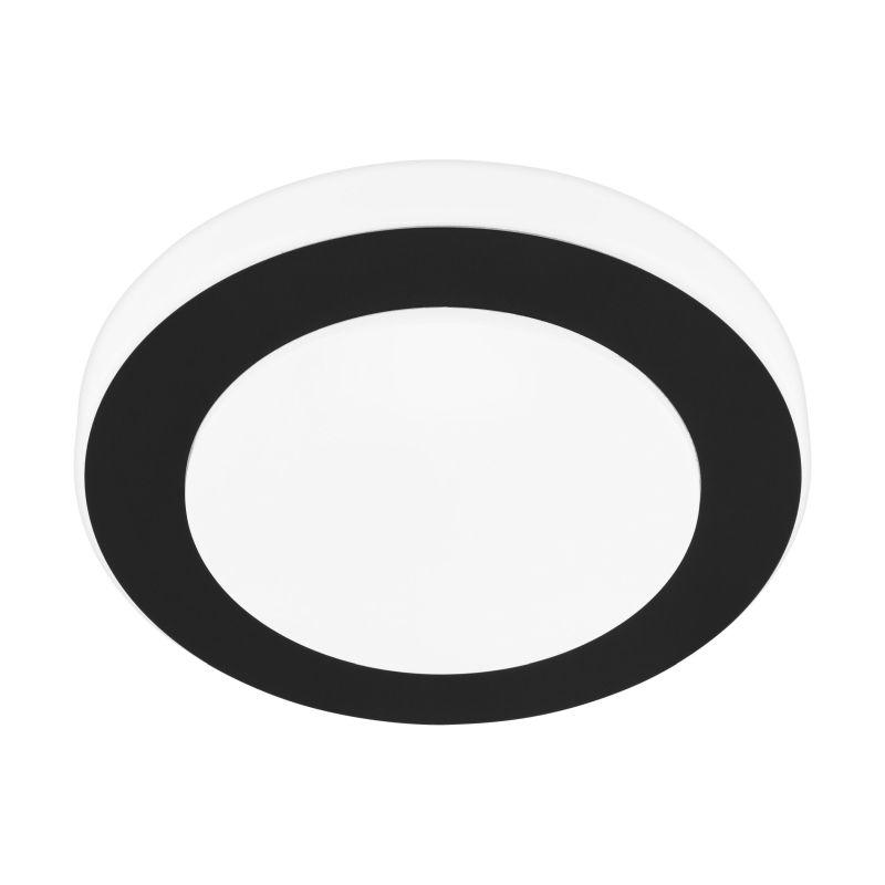 Eglo-33682 - Led Carpi - LED White & Black Medium Ceiling Light
