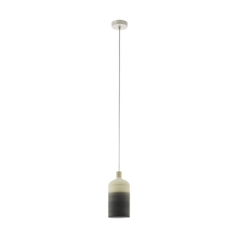 Eglo-39751 - Azbarren - Beige & Grey Ceramic Single Pendant