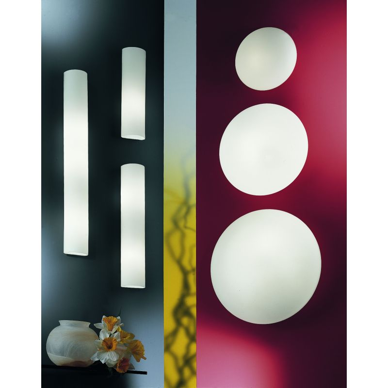 Eglo-83405 - Zola - Opal Glass & White Big Wall Lamp