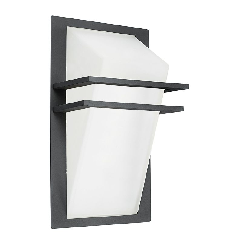Eglo-83433 - Park - Outdoor White & Anthracite Wall Lamp