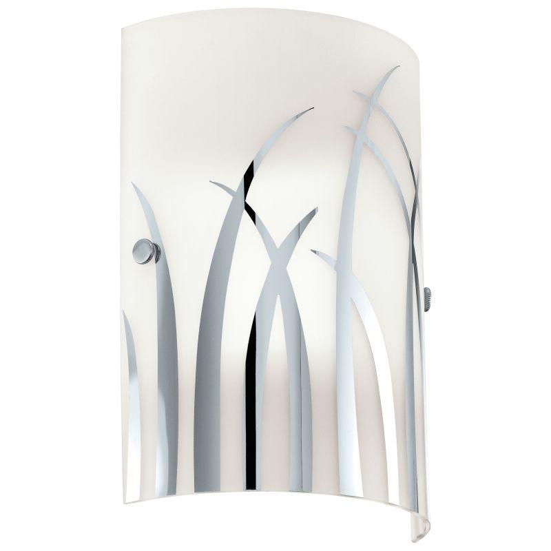 Eglo-92742 - Rivato - Decorative Glass & Chrome Wall lamp