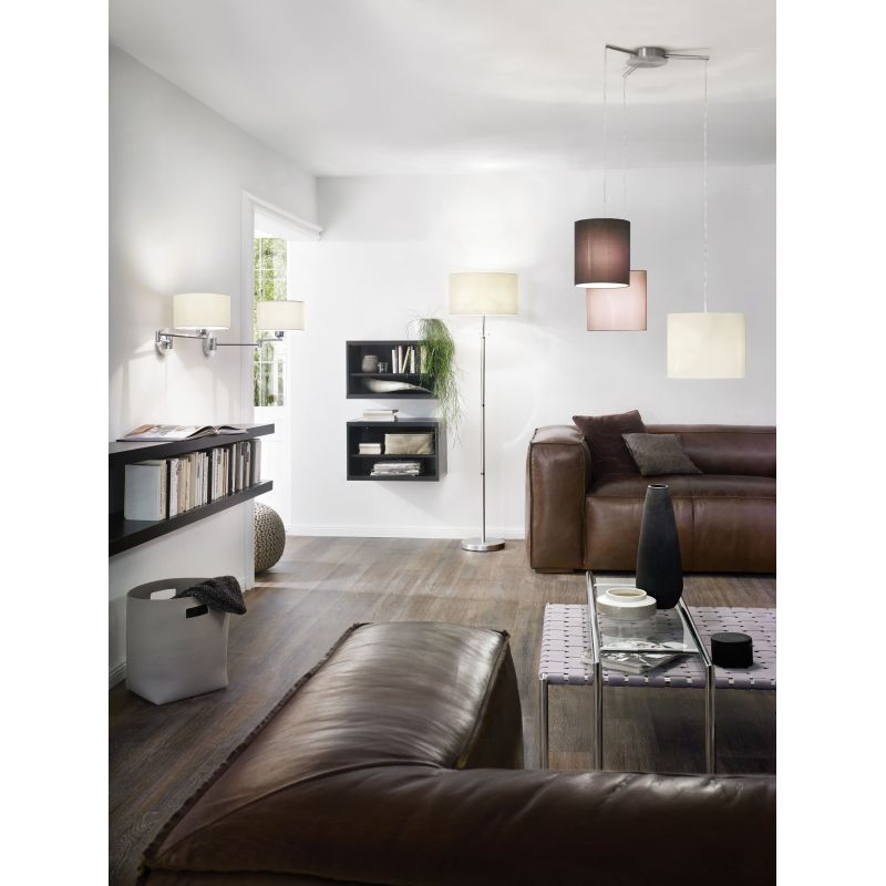 Eglo-92755 - Tombolo - Different Shades & Nickel 3 Light Cluster Pendant