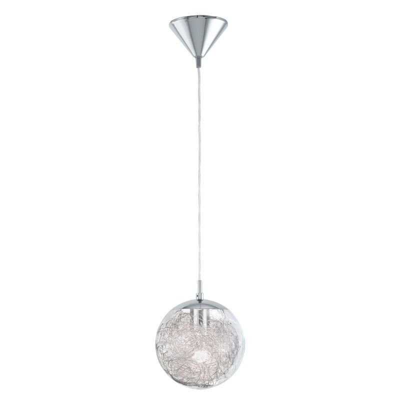 Eglo-93073 - Luberio - Decorative Clear Glass Globe Single Pendant