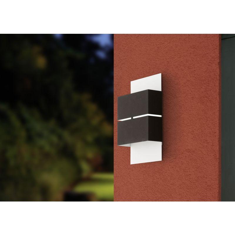Eglo-93254 - Kibea - Outdoor LED Galvanized Wall Lamp