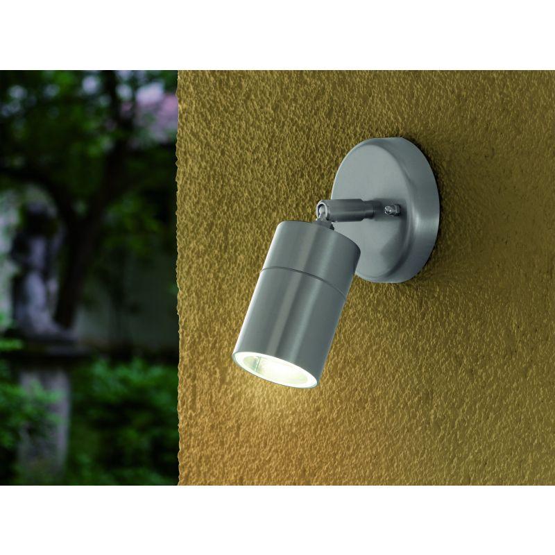 Eglo-93268 - Stockholm 1 - Outdoor Stainless Steel Spotlight