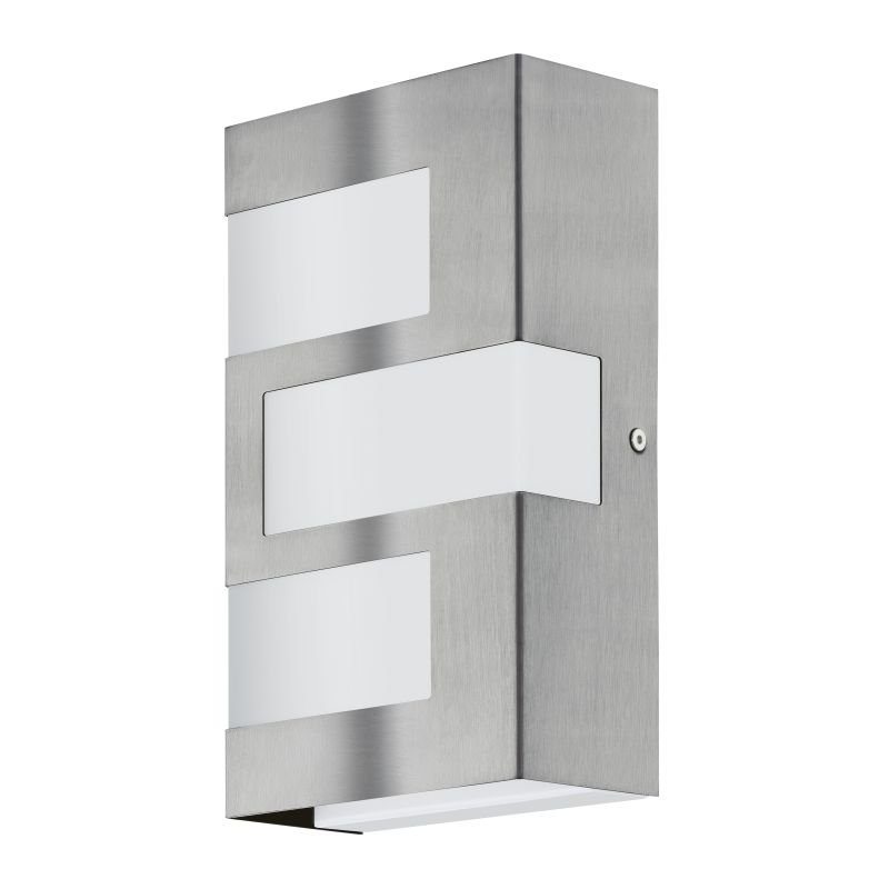 Eglo-94086 - Ralora - Outdoor LED White & Stainless Steel Wall Lamp