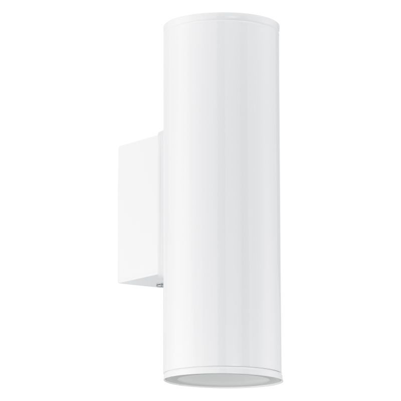 Eglo-94101 - Riga - Outdoor White Up&Down Wall Lamp