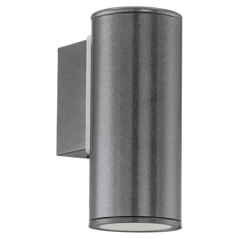 Eglo-94102 - Riga - Outdoor Anthracite 1 Light Wall Lamp