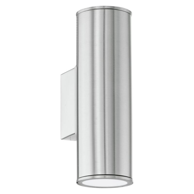 Eglo-94107 - Riga - Outdoor Stainless Steel Up&Down Wall Lamp