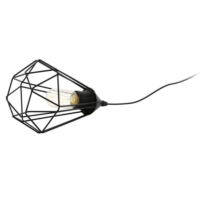 Eglo-94192 - Tarbes - Vintage Black Cage Table Lamp