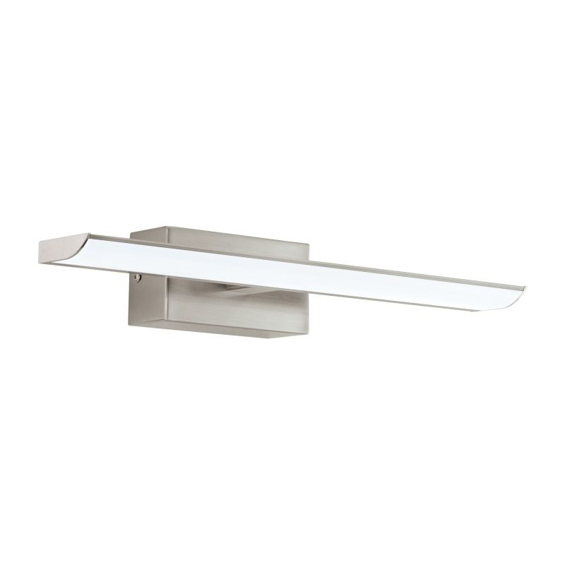 Eglo-94614 - Tabiano - LED White & Satin Nickel over Mirror Wall Lamp - 40.5 cm