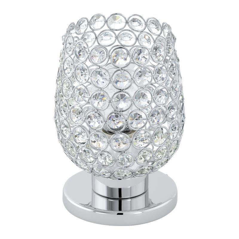 Eglo-94899 - Bonares 1 - Crystal & Polished Chrome Table Lamp